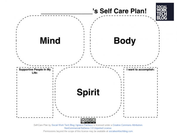Creating a Self-Care Plan