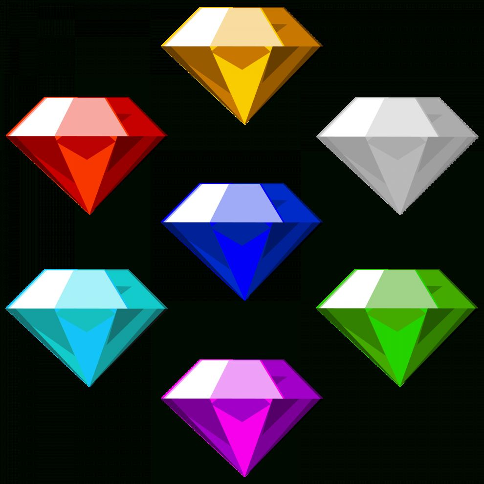 17 Chaos Emeralds Png