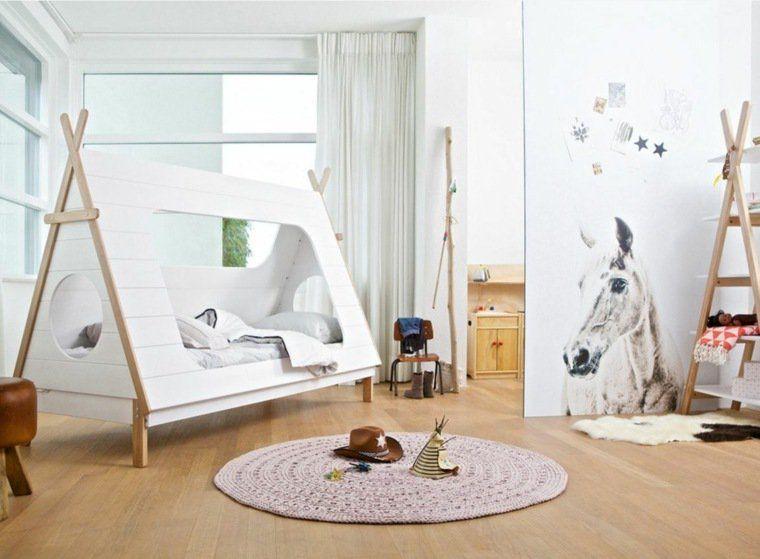 Un lit cabane pour une chambre d enfant