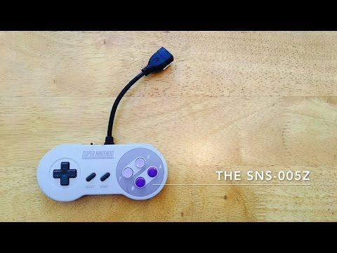 raspberry pi zero inside an snes controller the sns 005z youtube