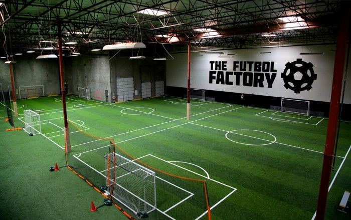 Facility Feature The Futbol Factory Indoor Soccer Field
