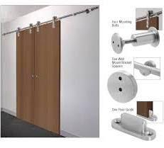Cr Laurence Laguna Sliding Door Hardware Adaptor Kit For Wood Doors Sliding Door Hardware Hanging Sliding Doors Interior Barn Doors