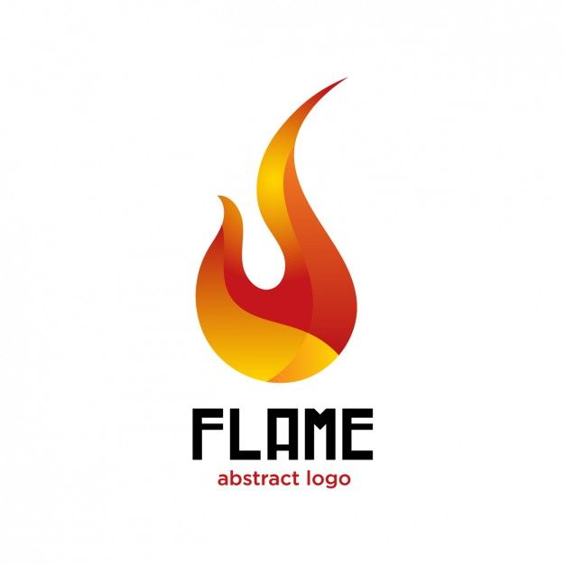 Flame Logo Design   Free Download