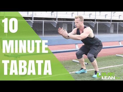 The Ultimate 10 Minute Bodyweight Tabata Workout via ACTIVEx - Live Lean TV