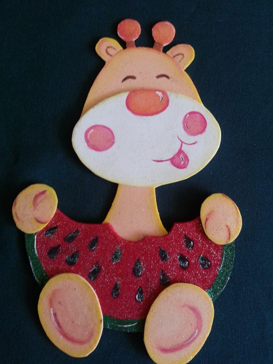 70eabe353b3 Figuras En Foamy Animales De La Selva Foami Fiesta Baby Bsf 45 00 ...