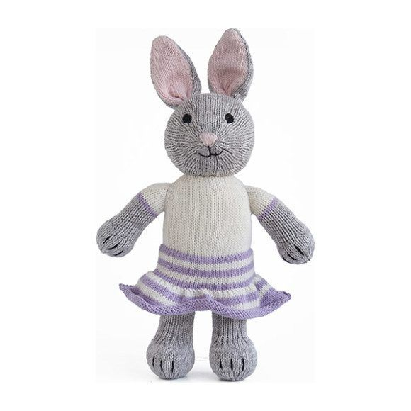 Bonny Bunny, Grey - Play Kids Plush - Maisonette