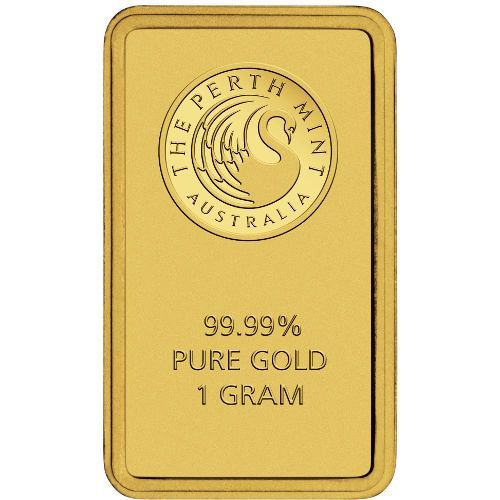 Pure Gold 1 Gram Perth Mint Gold Bar New W Assay On Ebid United States 145614482 Gold Bullion Bars Gold Bullion Coins Buy Gold And Silver
