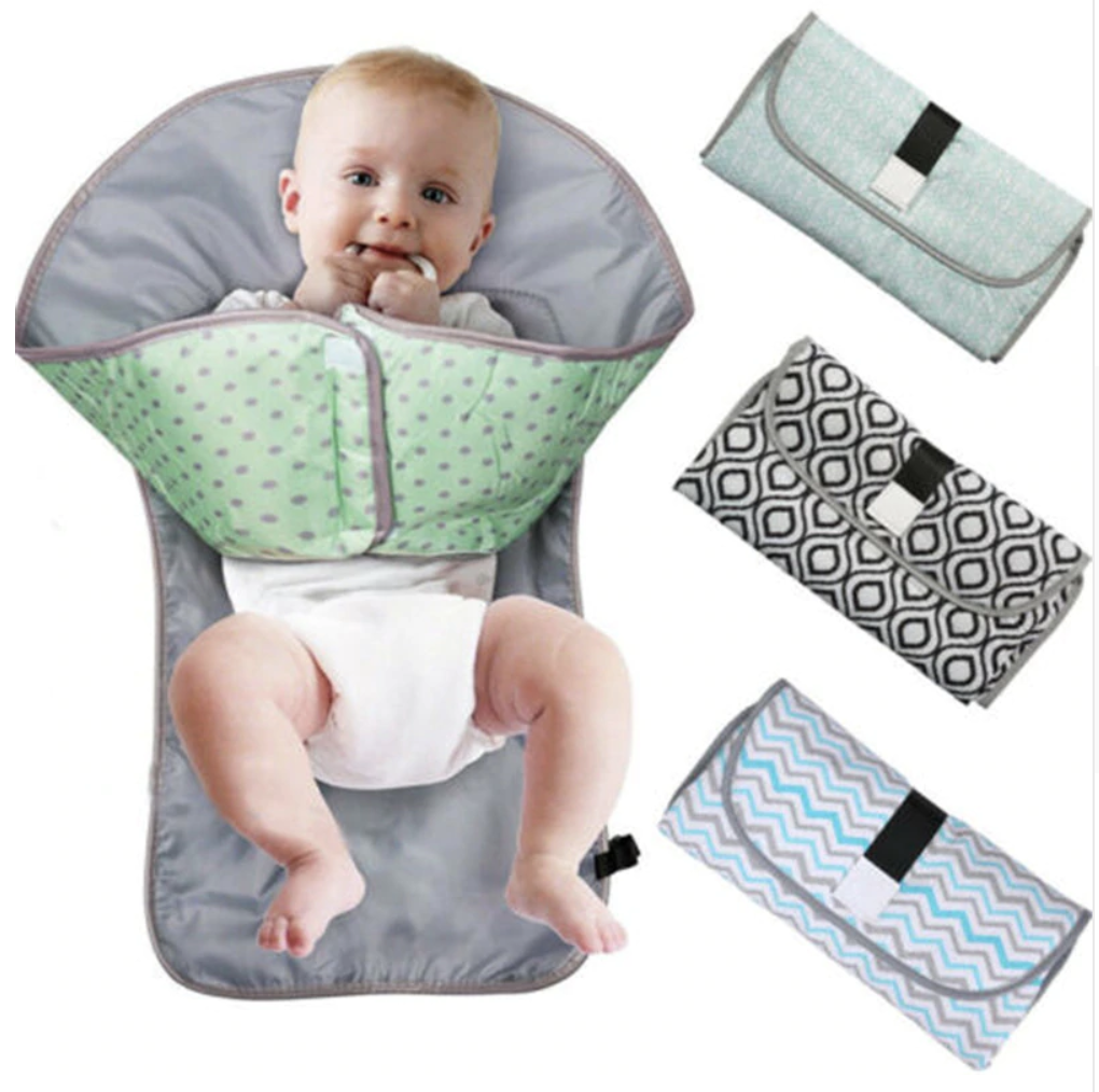 Baby Changing Mat Cover Diaper Nappy Change Pad Waterproof Toddler Infant Animal