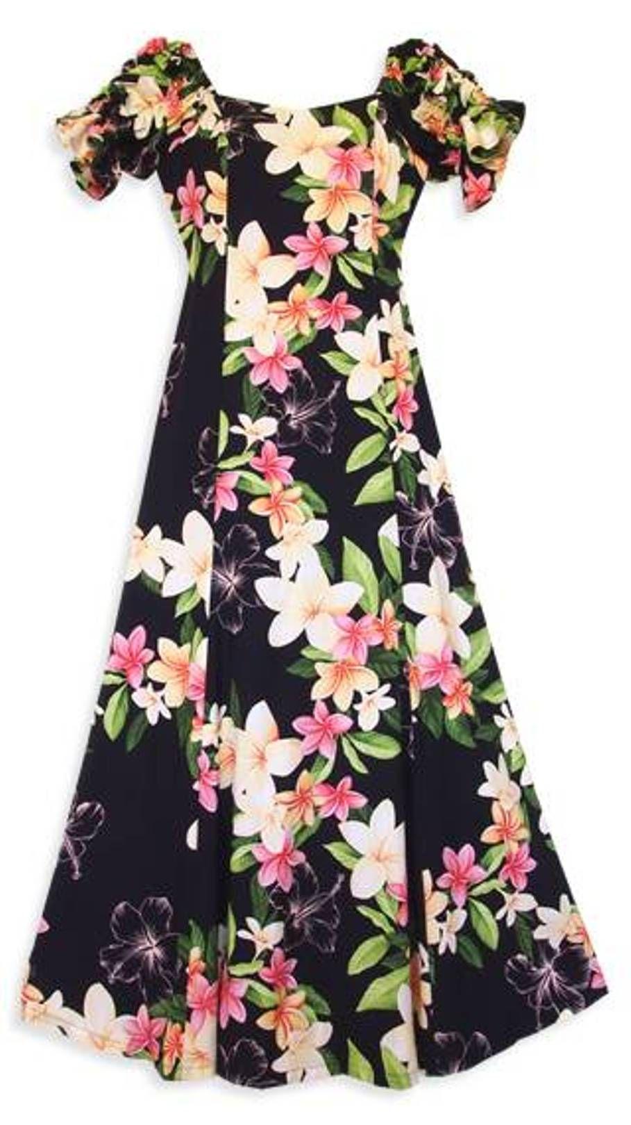 Authentic plus size hawaiian dresses