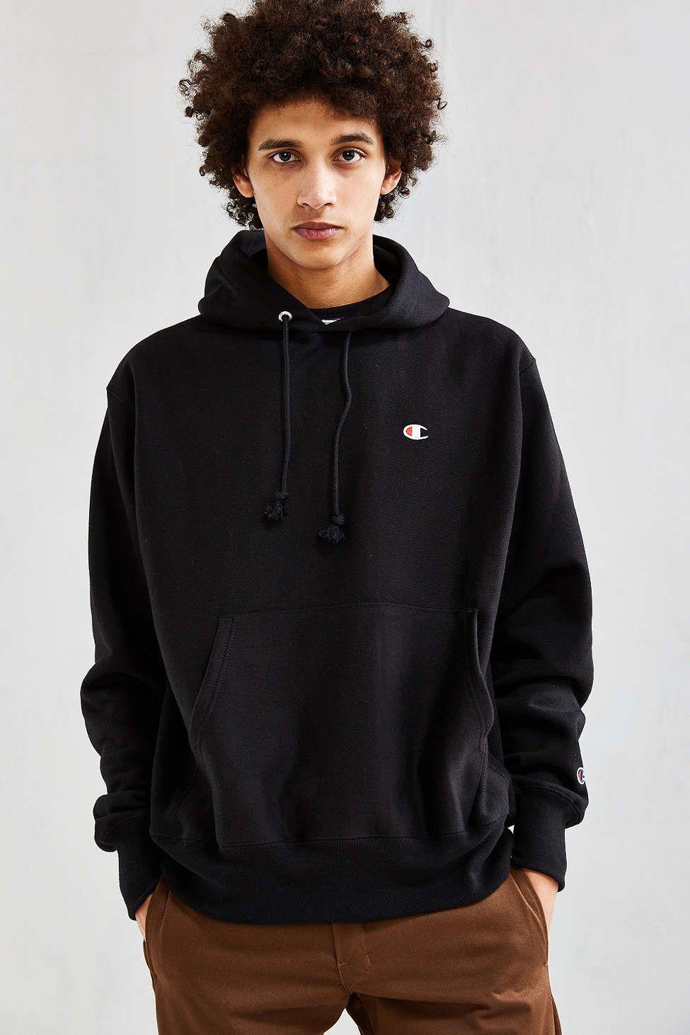 Champion Reverse Weave Hoodie Sweatshirt | Urban ...