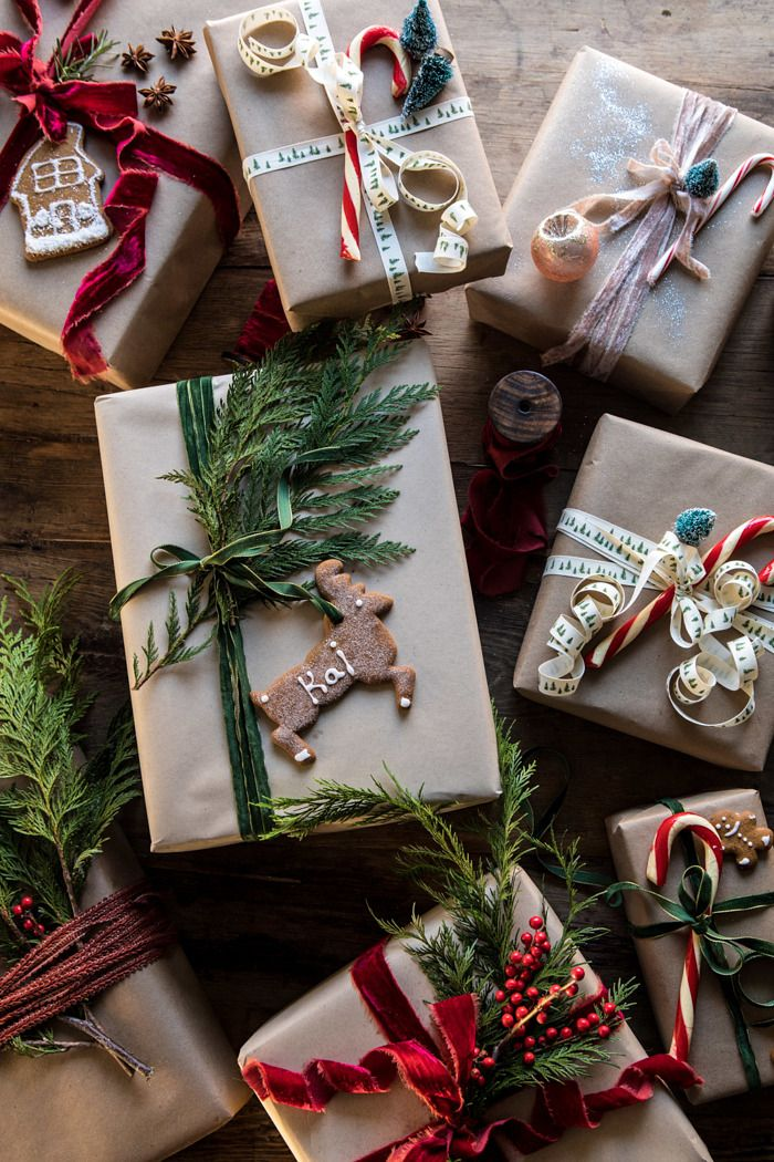 Christmas Gift Wrapping Ideas. - Half Baked Harves
