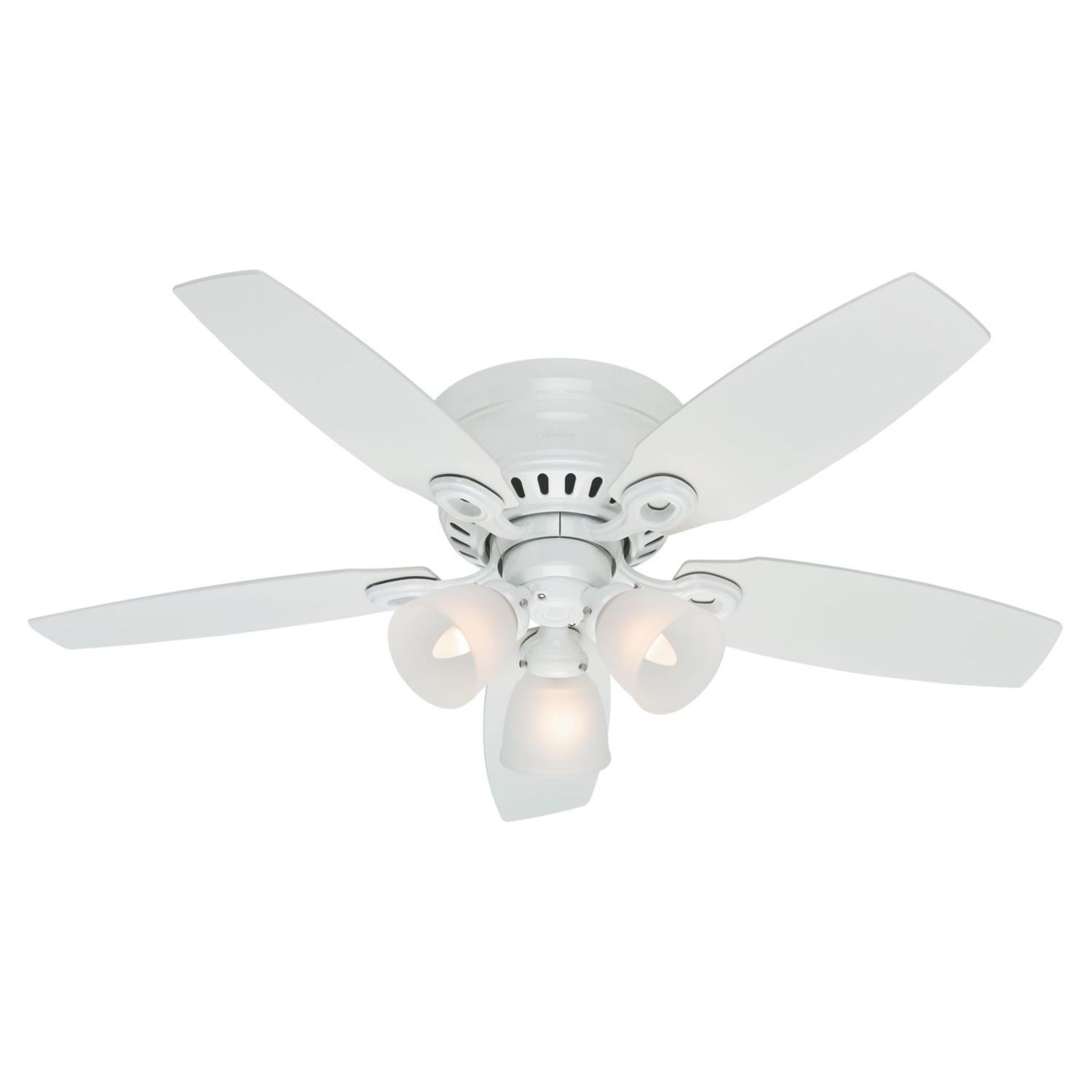 fan rooms small pin low is the fans for hatherton snow with perfect ceilings white hunter inch by ceiling