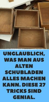 Photo of Unbelievable what you can do with old drawers. These 27 tricks are awesome.