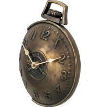 unique pocket watch on the outside