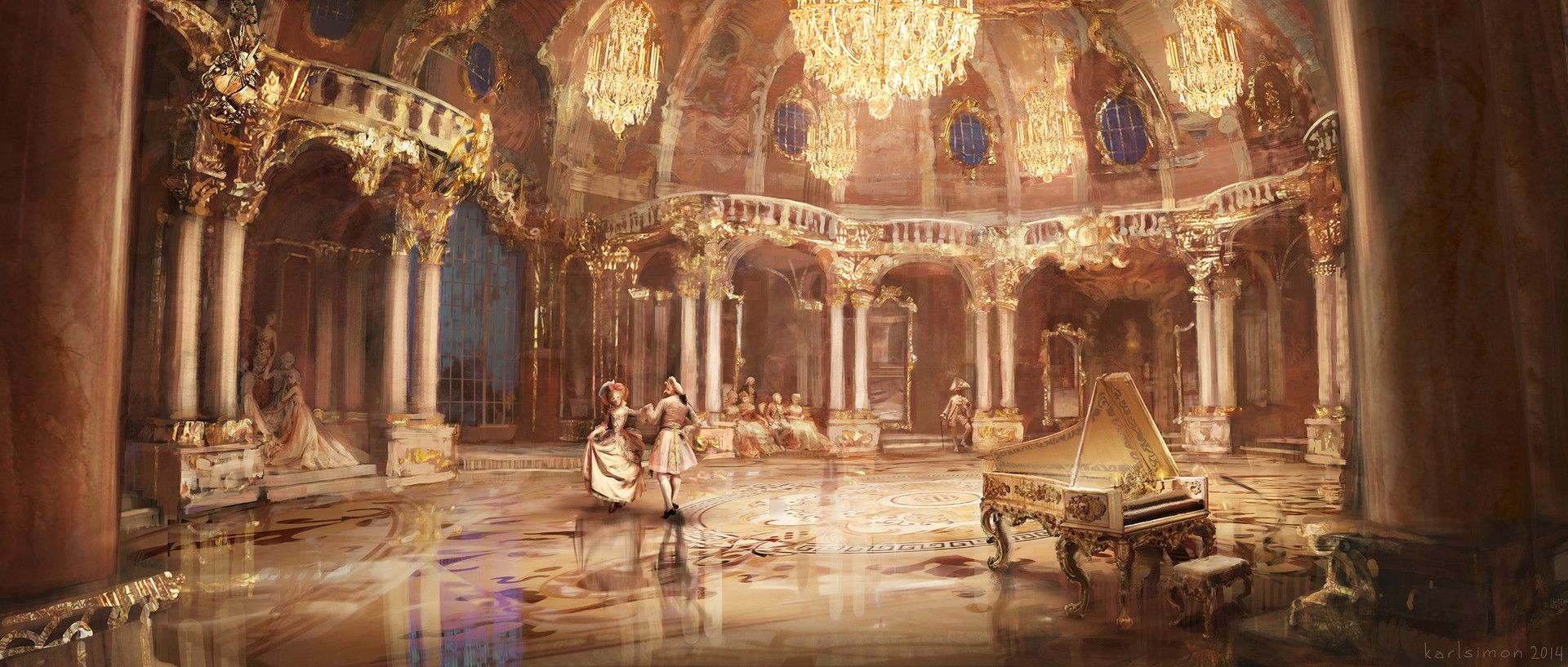 Beauty The Beast Concept Art Created For Disney S 2017 Live