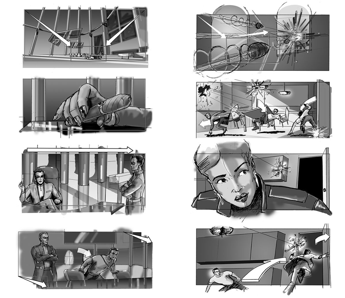 I Will Do Storyboards That Help You Shoot Films Movies