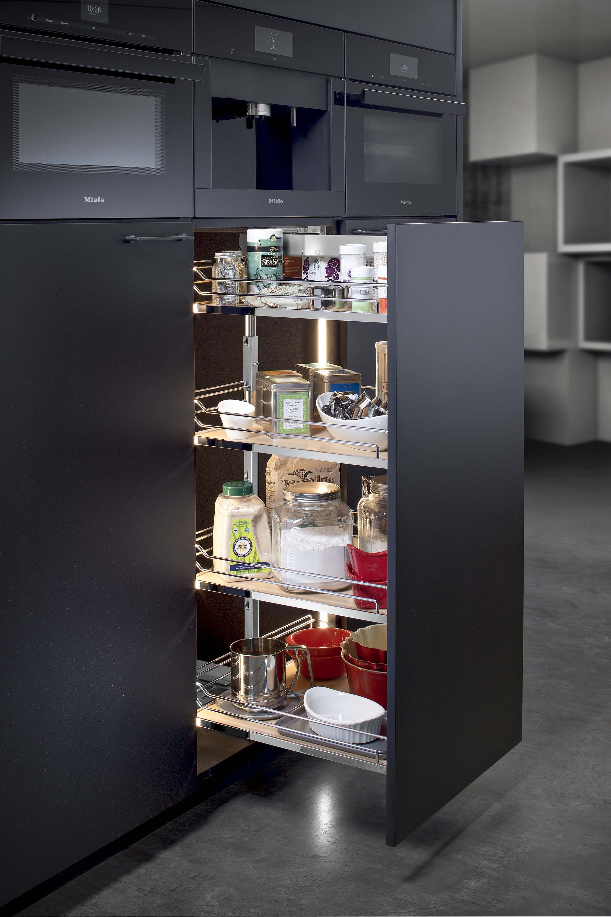 Hafele PullOut Pantry Kitchen Ideas Pinterest Pantry and