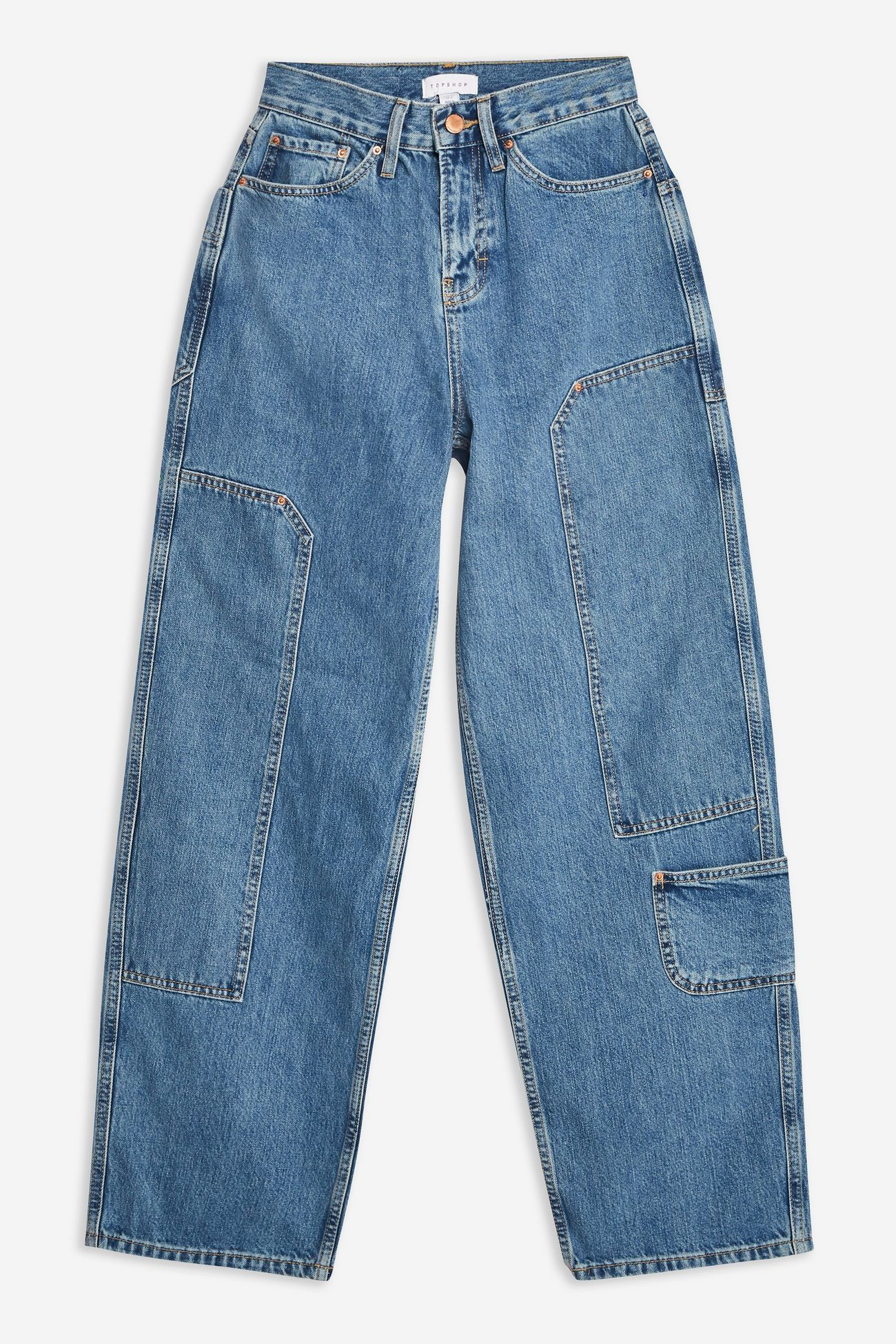 Cargo 90s Baggy Jeans By Boutique Topshop Aesthetic Clothes Comfy Jeans Outfit Baggy Clothes