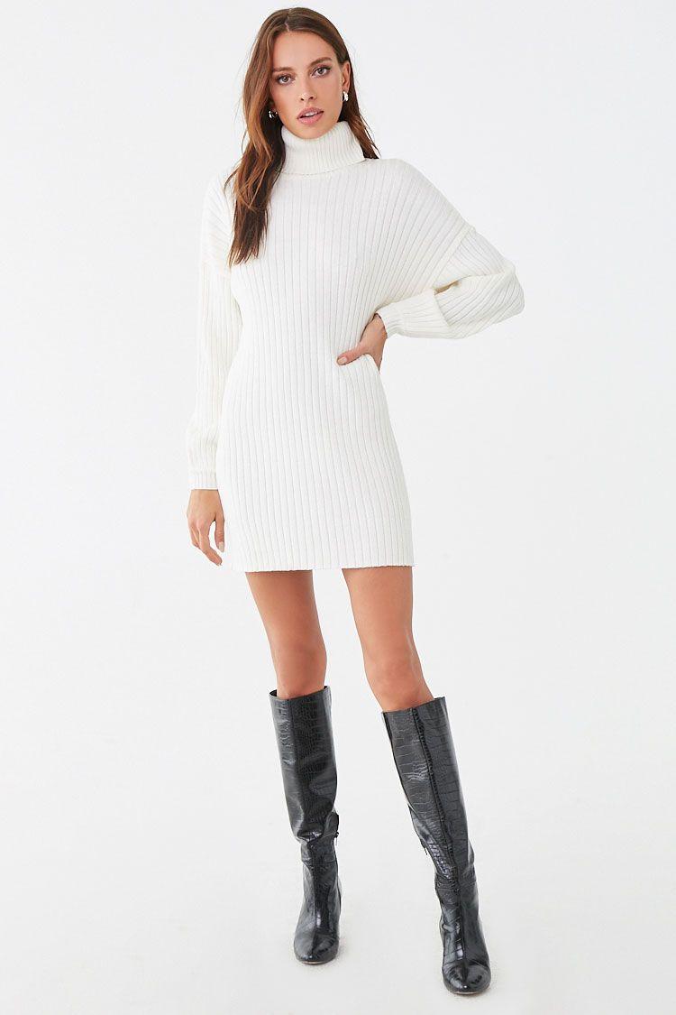 21+ Mini sweater dress information