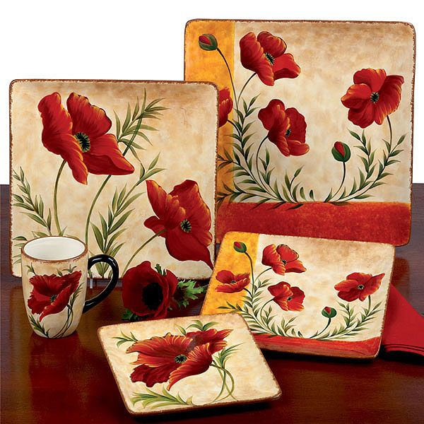 Poppies Ceramic Tableware & Poppies Ceramic Tableware | Elegant Serveware | Pinterest | Ceramic ...