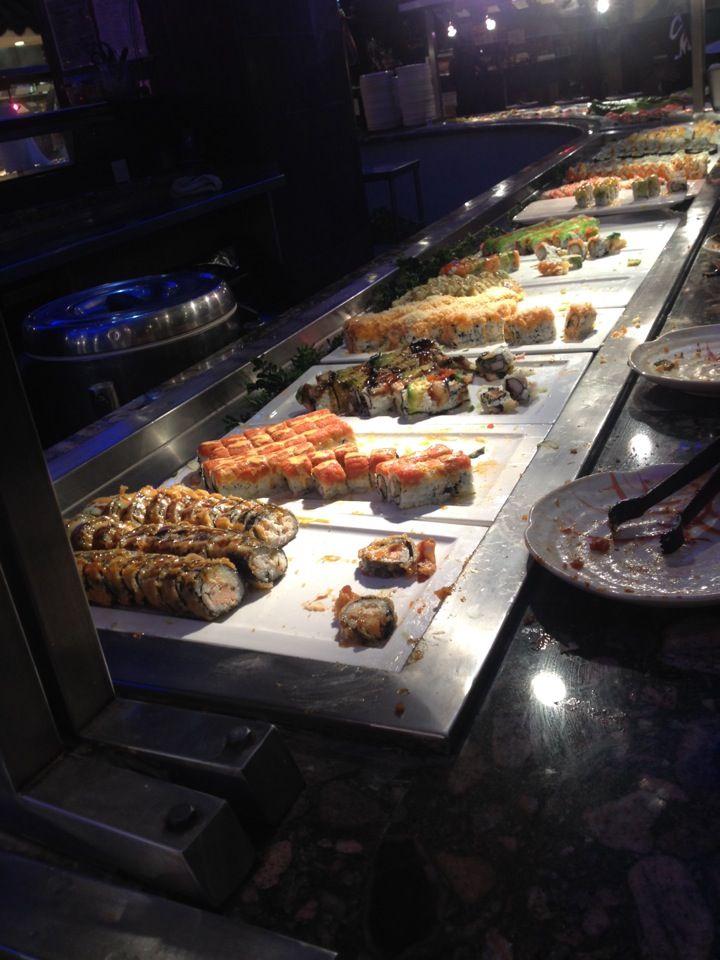 Yukai Anese Buffet In Virginia Beach Va Not Gourmet But Really Good Sushi