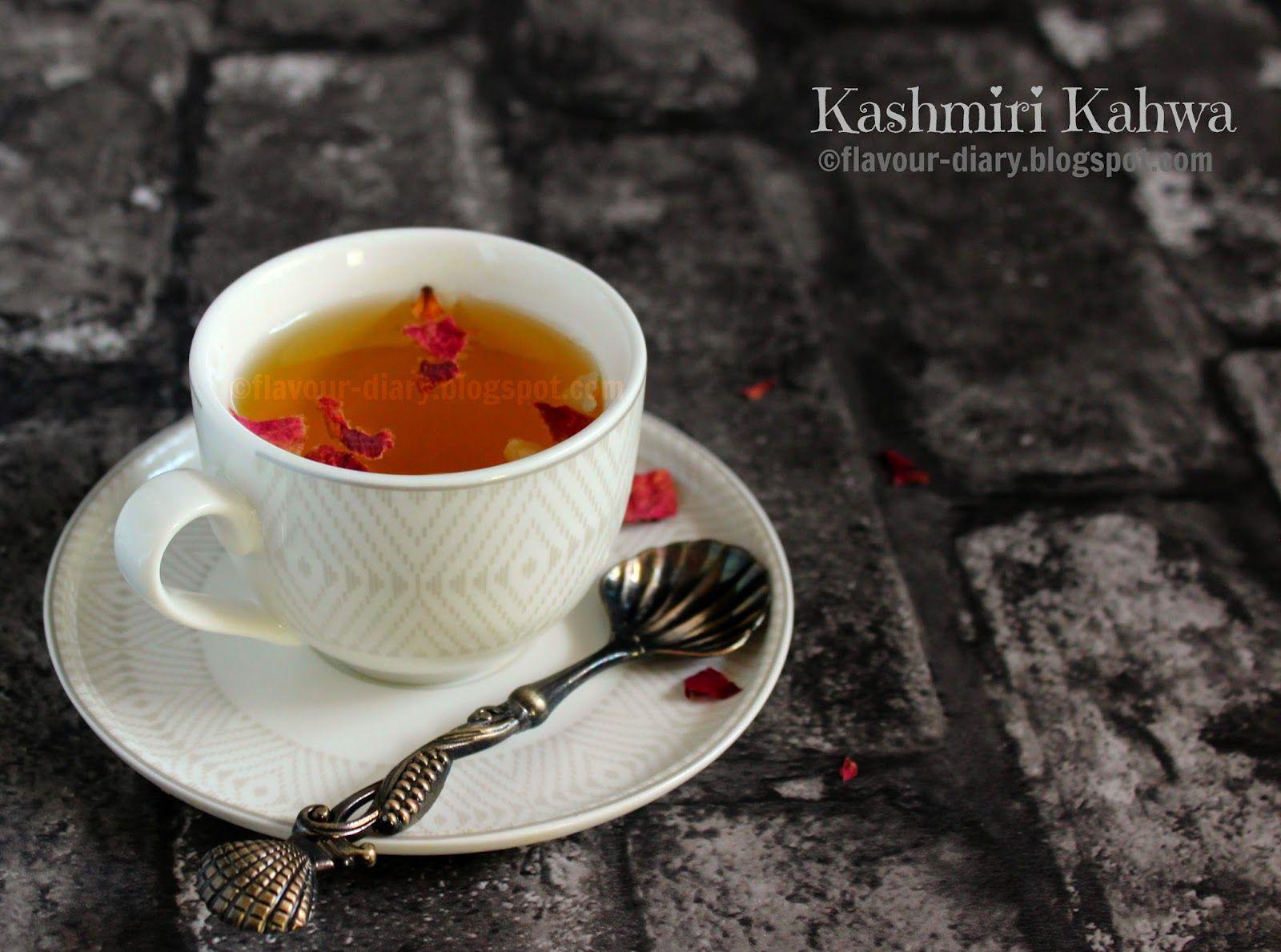 Kashmiri Kong Kahwa Tea Recipe (With images) Saffron tea