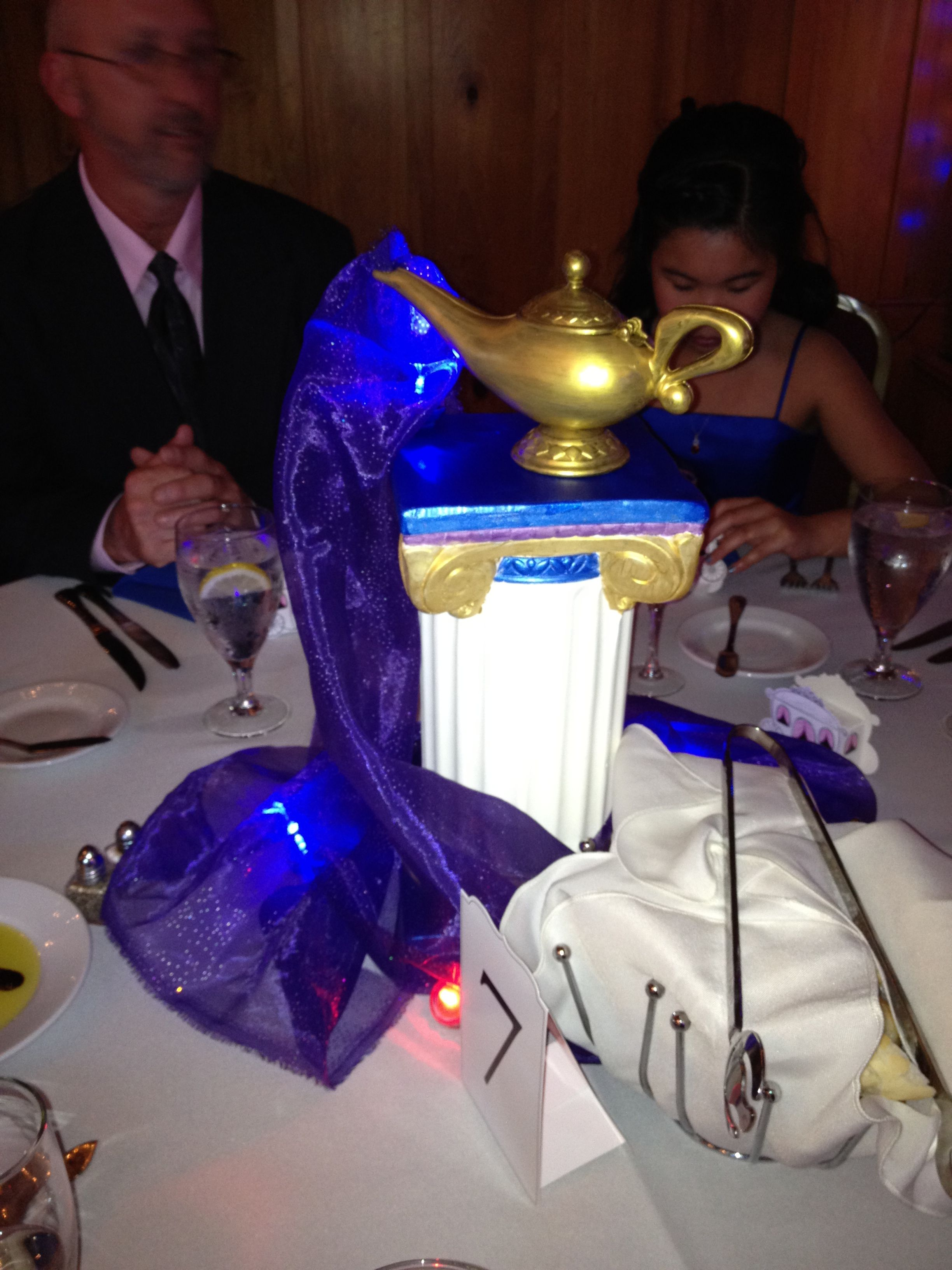 Aladdin Theme Table Crafts For Occasions Birthday