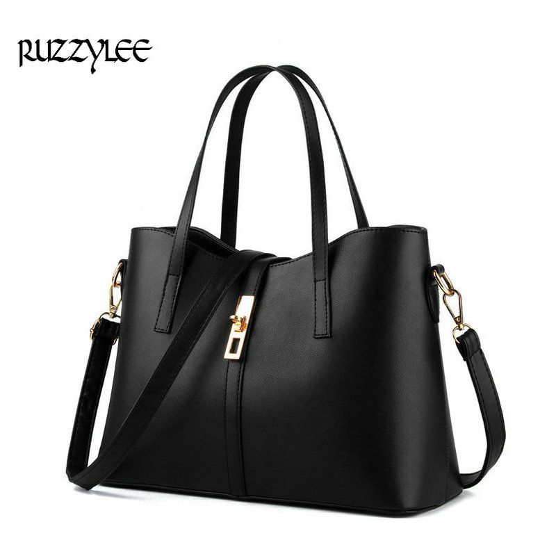 d016001ab8ef Newest Bucket Bag Women PU Leather Hand Bags Good Quality Messenger Bag  Large Shoulder Simple Crossbody Handbags Bolsa Feminina     AliExpress  Affiliate s ...