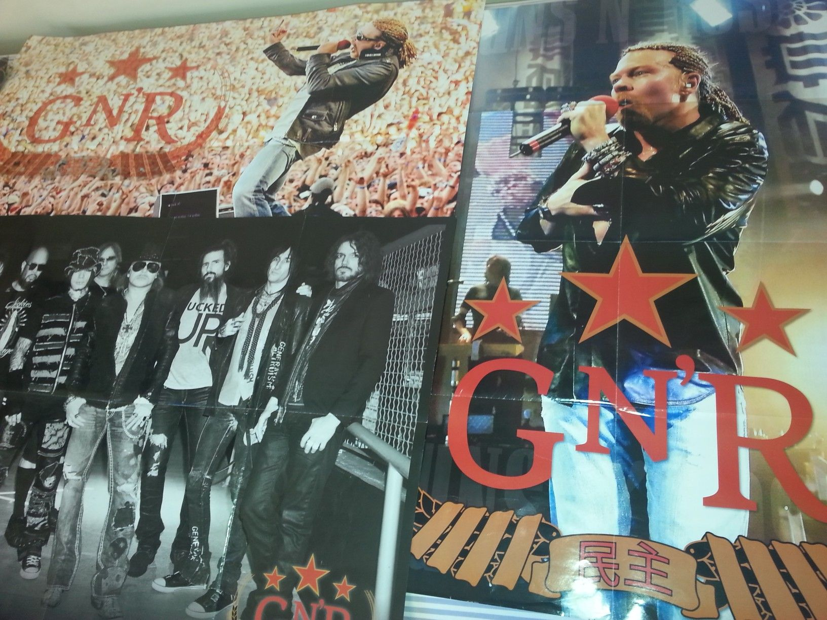 Poster Axl Rose  #gunsnroses #mycollection