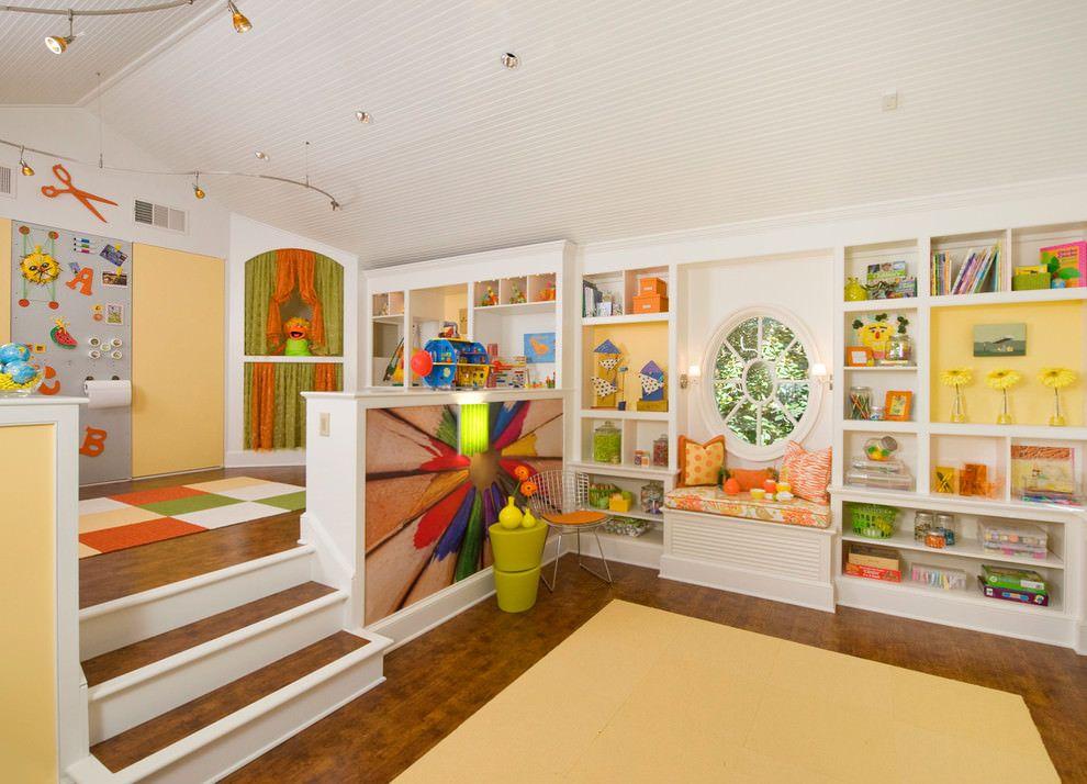 Classy Kids Playroom Design