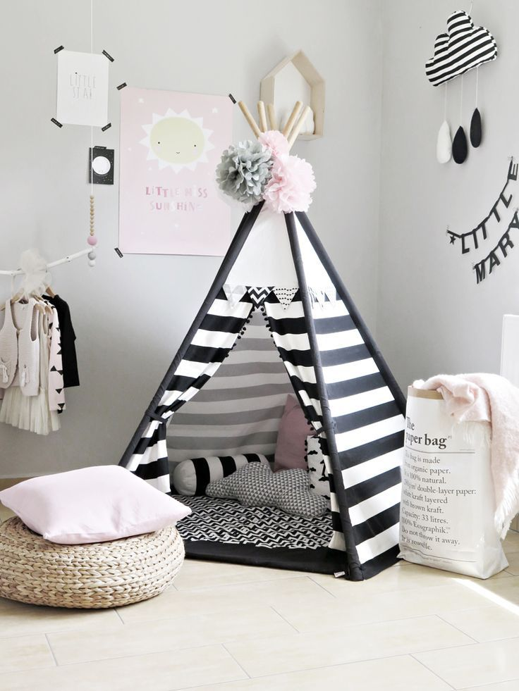 tolles tippi in schwarz wei perfekt f r helle skandinavisch eingerichtet kinderzimmer. Black Bedroom Furniture Sets. Home Design Ideas