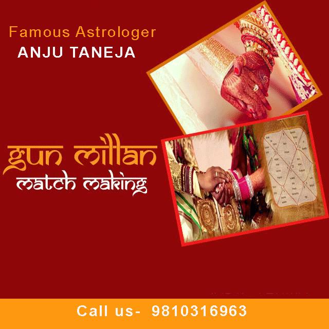 Anju Taneja world famous Match Making Astrologer For