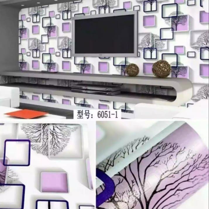Wallpaper Dinding Murah Medan Ukuran 45cmx10m Bahan Pvc