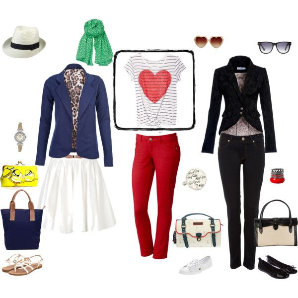 Red White Blue... and More, created by claire-matz on Polyvore