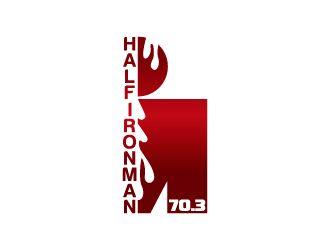 "IRONMAN RED M DOT TRIATHLON STICKER 4/"" Swim Bike Run Tri Car Decal 140.6 70.3"