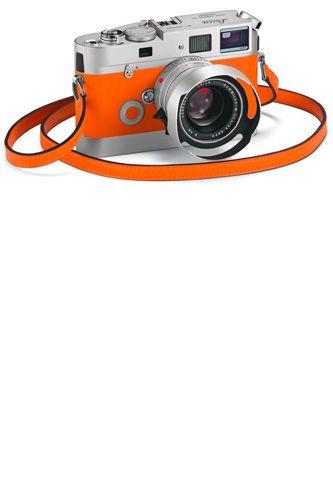What do I want more than a Leica? An *orange* Leica!