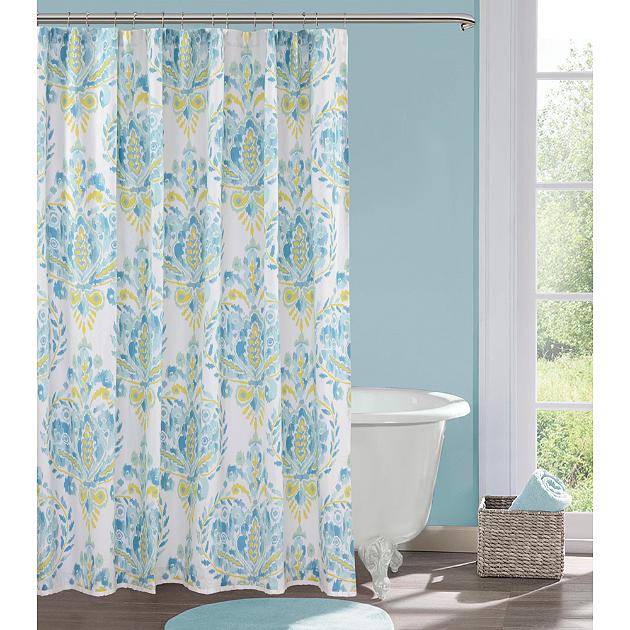 Spruce Up Your Bathroom Rotator Rod Shower Rod With Springtime - Floral bathroom accessories set for bathroom decor ideas