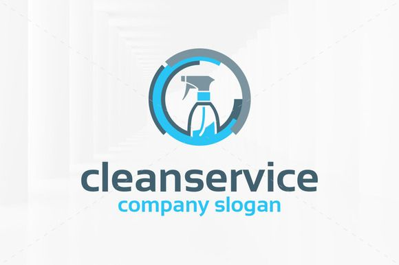 Clean Service Logo Template Cleaning Service Logo Service Logo