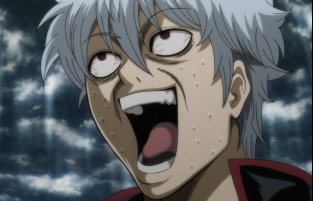 My face always. Gintoki Sakata Gintama Anime