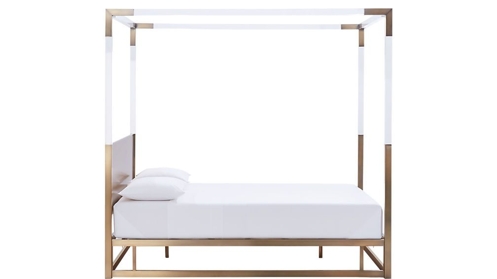Best Acrylic Canopy Bed Queen Reviews Cb2 Bed Frame 400 x 300