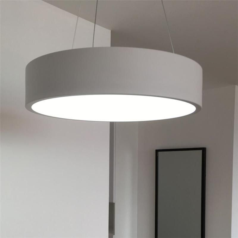 Nordic Led Circle Acrylic Pendant Light For Dinning Living Room
