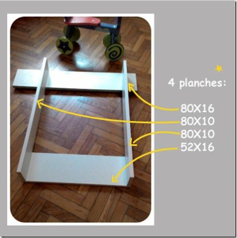 4planches table langer table langer murale table - Table a langer murale autour de bebe ...