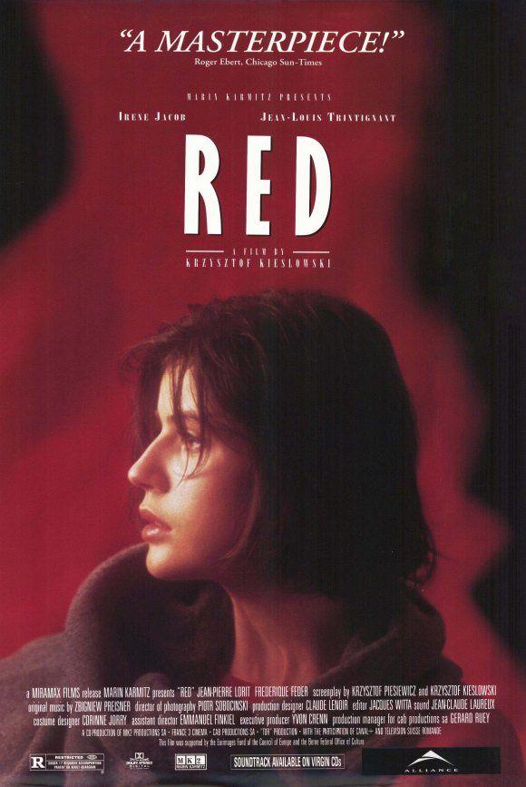 Three Colors Red 1994 Indie Movie Posters Movie Posters Film
