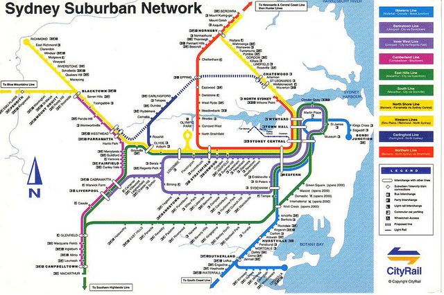Sydney Subway Map Sydney Subway Map – Bestinthesw