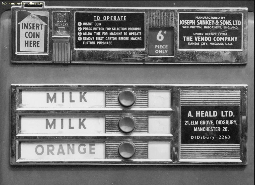 Image result for 70's milk vending machine Vending