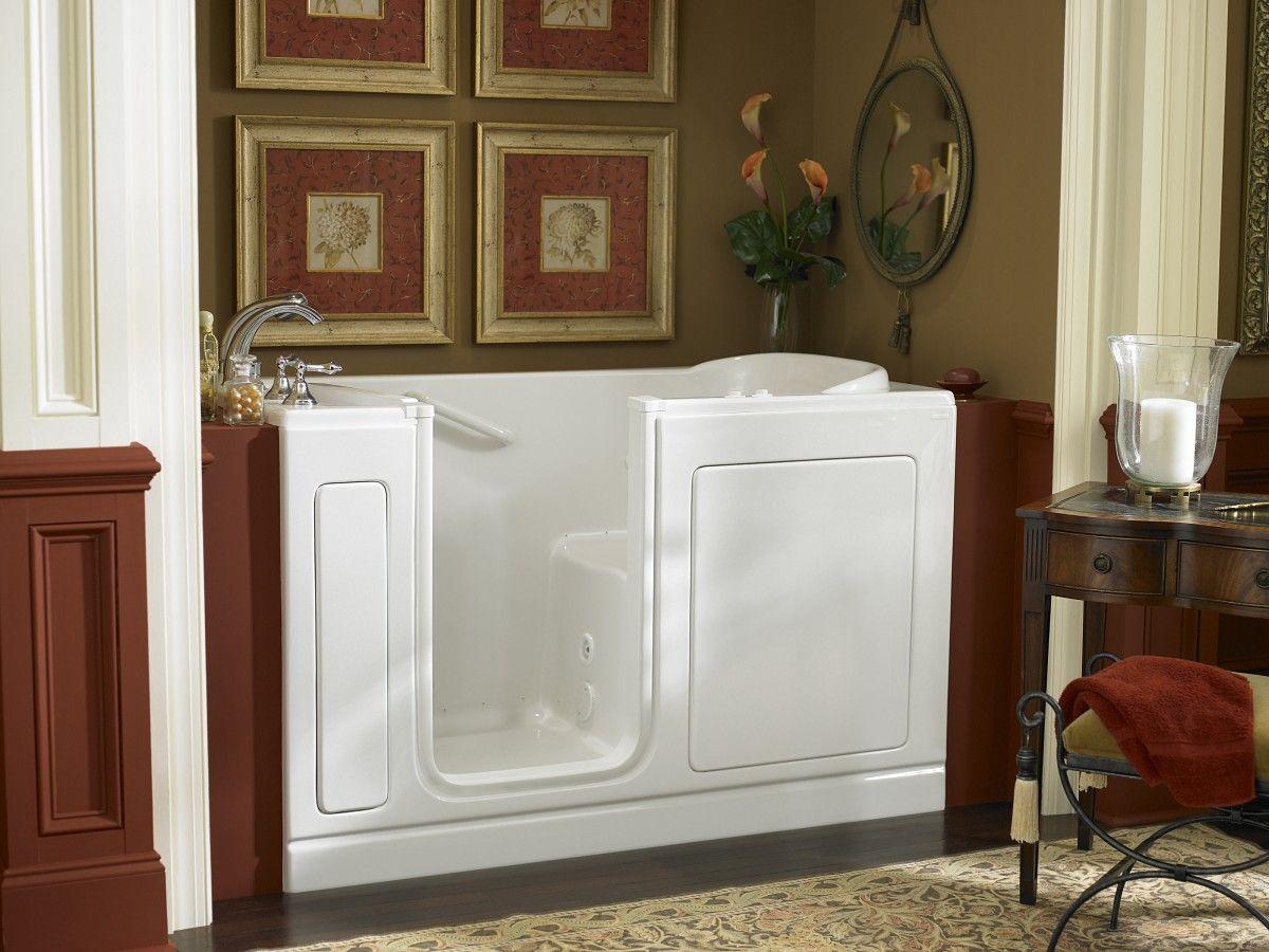 classy home decor with upright sitting tub | Home Decor / Baths ...