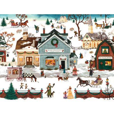 The Village Toymaker 500 Piece Jigsaw Puzzle | Bits and ...