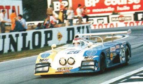 The Mazda-powered Sigma MC73 was the first Japanese car to qualify ...