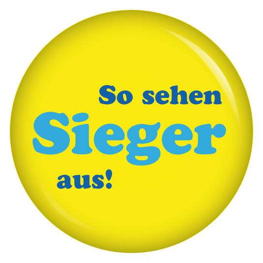 Photo of Button So sehen Gewinner aus!