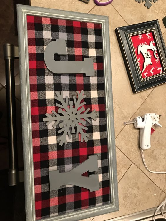 30 Best And Classic Collection Of Plaid Christmas Decor #diychristmasgifts